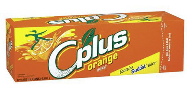 Indian grocery online - Cplus Orange 12x355Ml Cans - Cartly