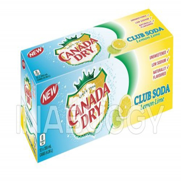 Indian grocery online - Canada Dry Club Soda 12 Pk - Cartly