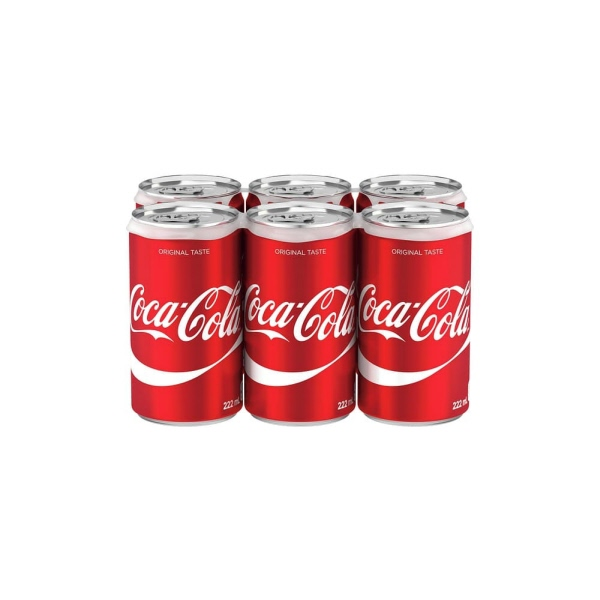 Indian grocery online - Coca Cola 6x222Ml - Cartly