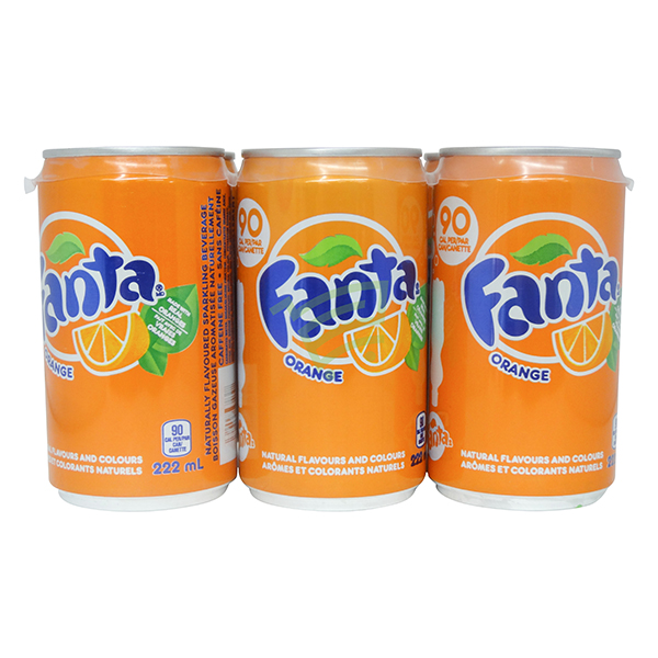 Indian grocery online - Fanta 6x222Ml Can Pack - Cartly