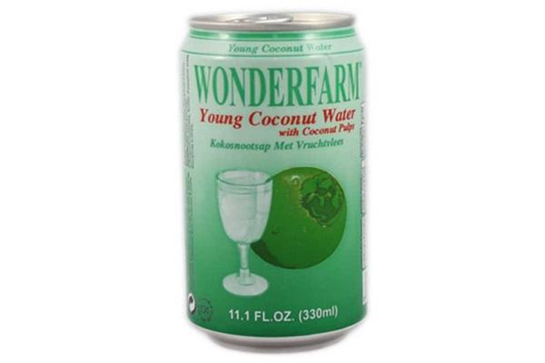 Indian grocery online - Wonderfarm Coconut Water Tin 330Ml - Cartly
