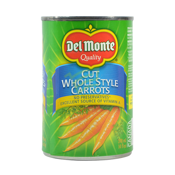 Indian grocery online - Del Monte Carrots-Whole 398Ml - Cartly