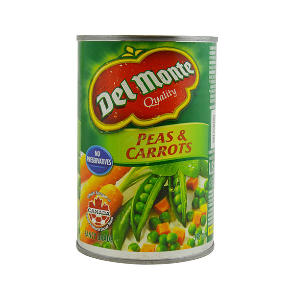 Indian grocery online - Del Monte Peas & Carrots 398Ml - Cartly