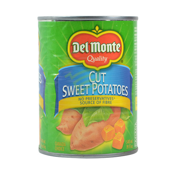 Indian grocery online - Del Monte Cut Sweet Potatoes 540Ml - Cartly