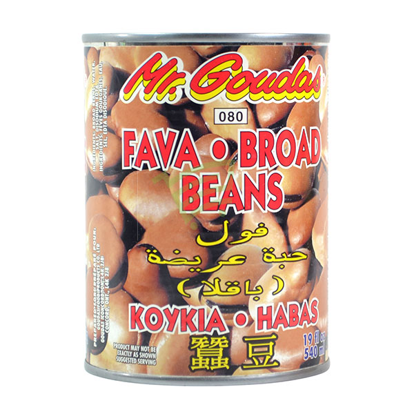Indian grocery online - Mr.Goudas Fava Broad Beans 540Ml - Cartly