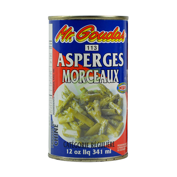 Indian grocery online - Mr.Goudas Asparagus Cuts 341Ml - Cartly