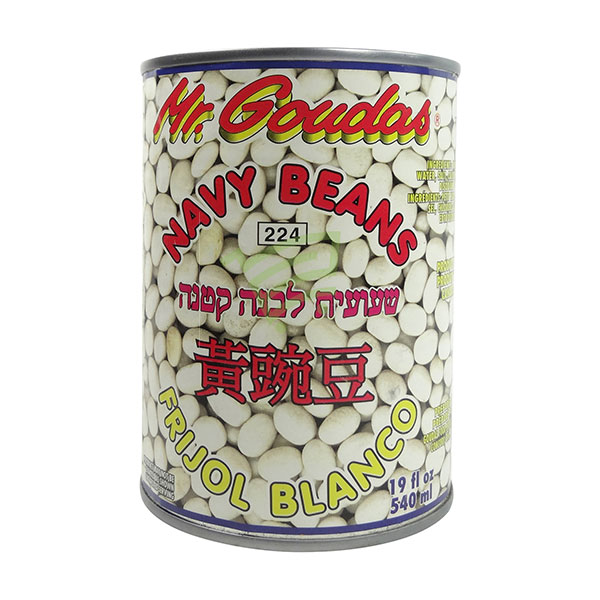 Indian grocery online - Mr.Goudas Navy Beans 540Ml - Cartly