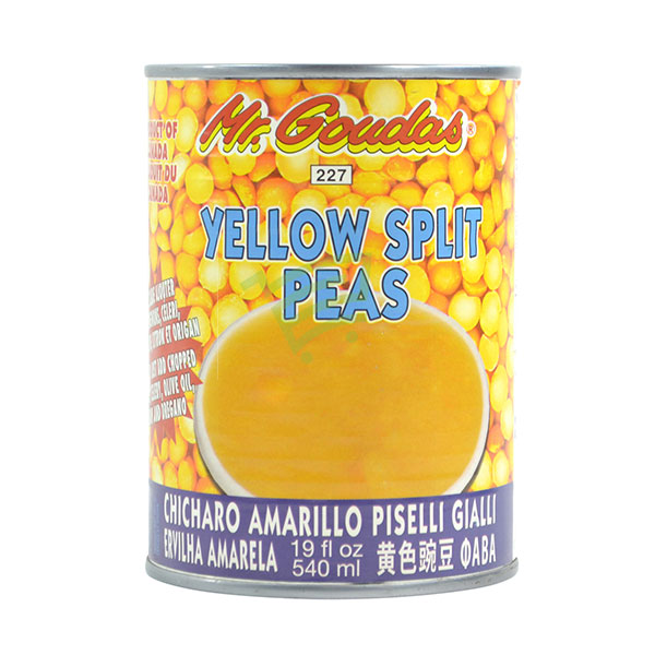 Indian grocery online - Mr.Goudas Yellow Split Peas 540Ml - Cartly