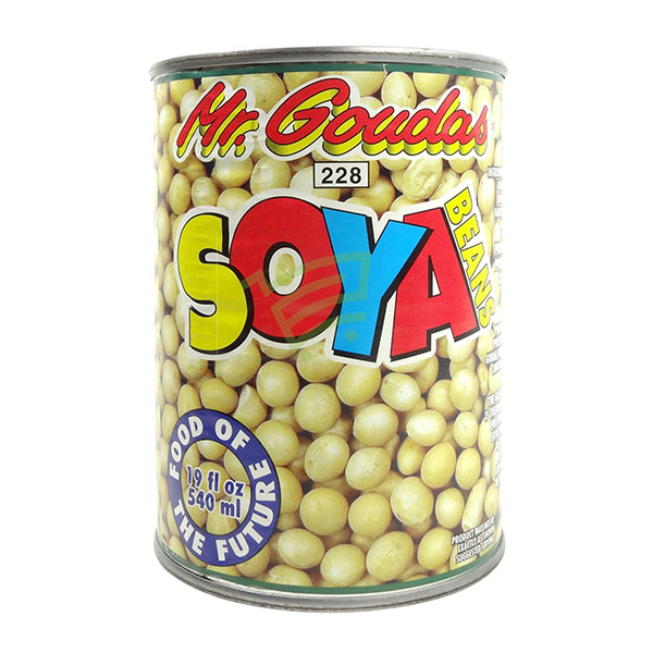 Indian grocery online - Mr.Goudas Soya Beans 540Ml - Cartly