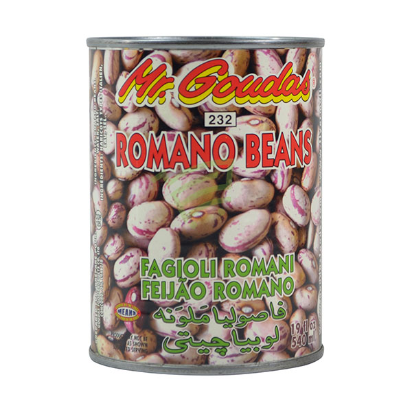 Indian grocery online - Mr.Goudas Romano Beans 540Ml - Cartly