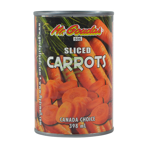 Indian grocery online - Mr.Goudas Sliced Carrots 398Ml - Cartly