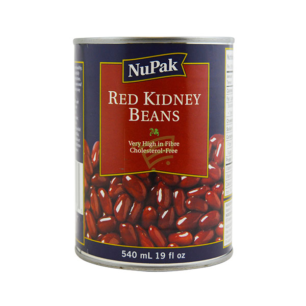 Indian grocery online - NuPak Red Kidney Beans 540Ml - Cartly