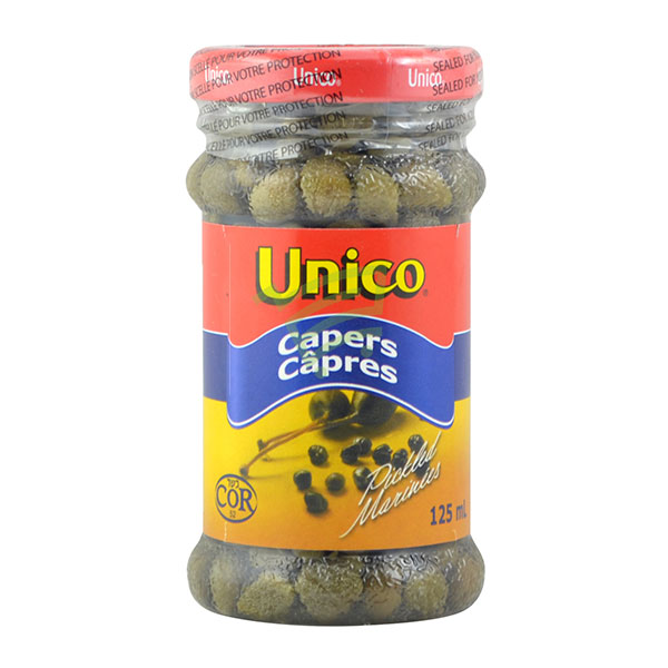 Indian grocery online - Unico Capers 125Ml - Cartly