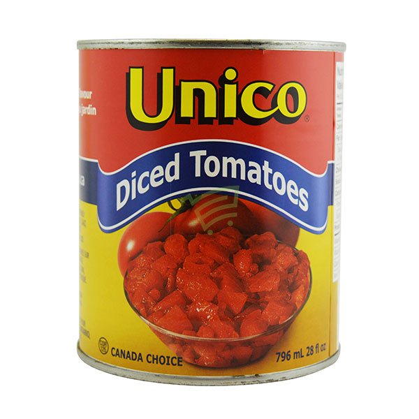 Indian grocery online - Unico Diced Tomatoes 796Ml - Cartly