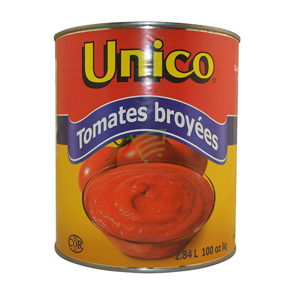 Indian grocery online - Unico Crushed Tomatoes 2.84L - Cartly