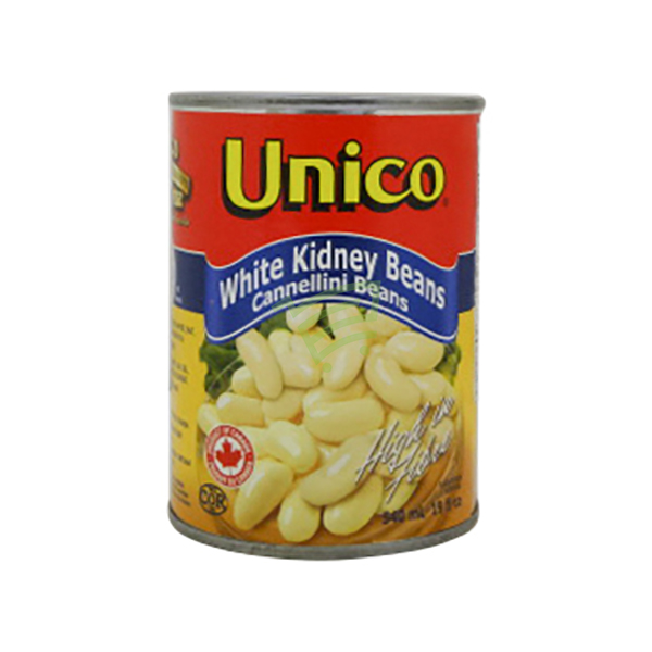 Indian grocery online - Unico White Kidney Beans 540Ml - Cartly