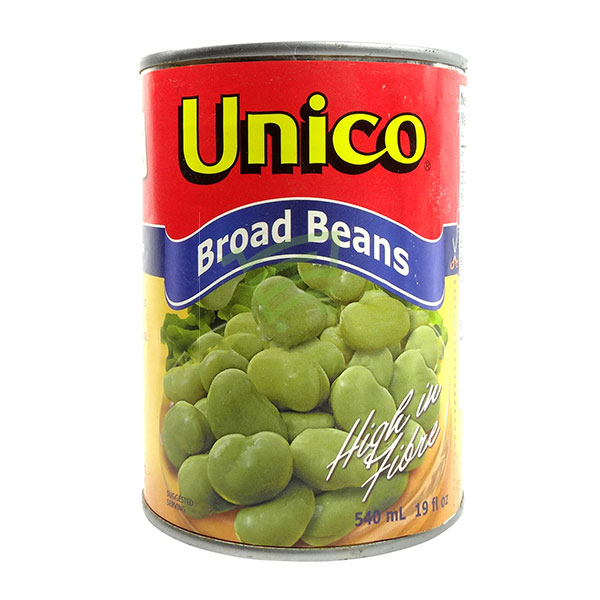 Indian grocery online - Unico Broad Beans 540Ml - Cartly