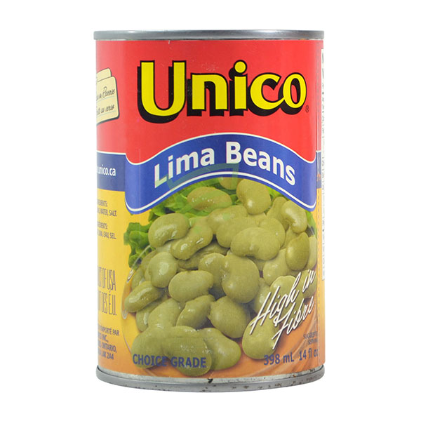 Indian grocery online - Unico Lima Beans 398Ml - Cartly