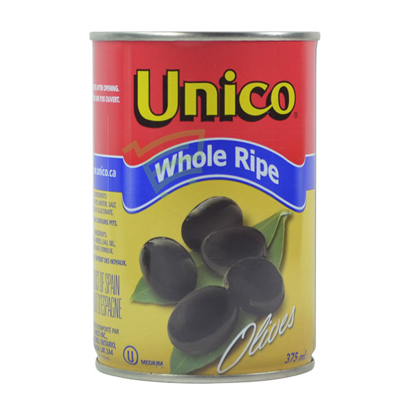 Indian grocery online - Unico Medium Ripe Olives 375Ml - Cartly