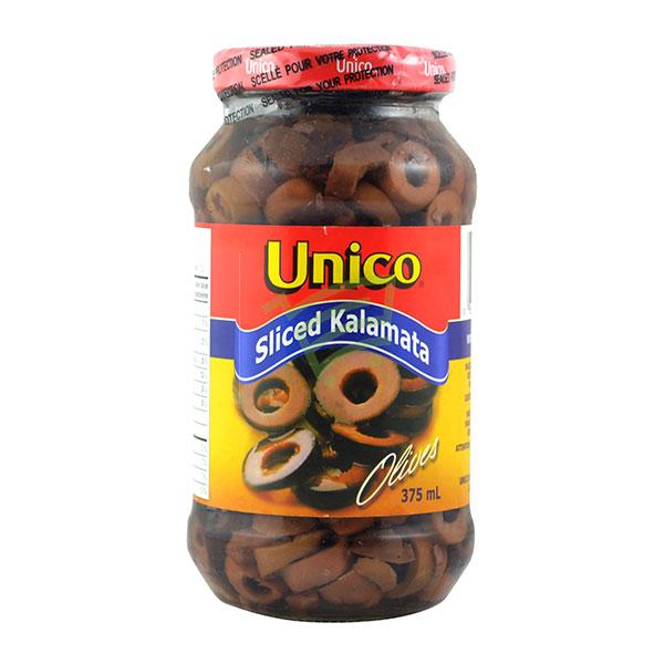 Indian grocery online - Unico Sliced Kalamata 375 Ml - Cartly