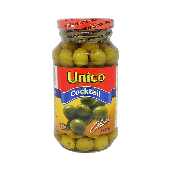 Indian grocery online - Unico Cocktail Olives 375Ml - Cartly