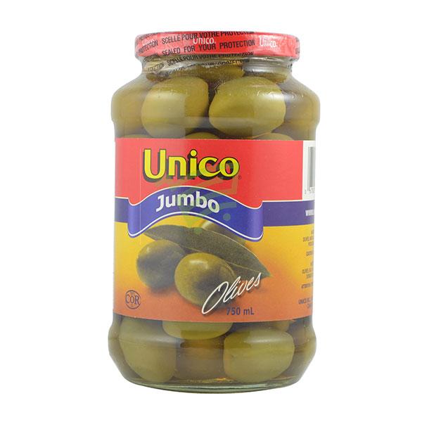 Indian grocery online - Unico Jumbo Olives 750Ml - Cartly