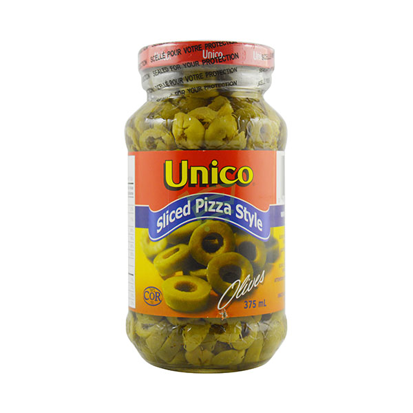 Indian grocery online - Unico Sliced  Olives 375Ml - Cartly