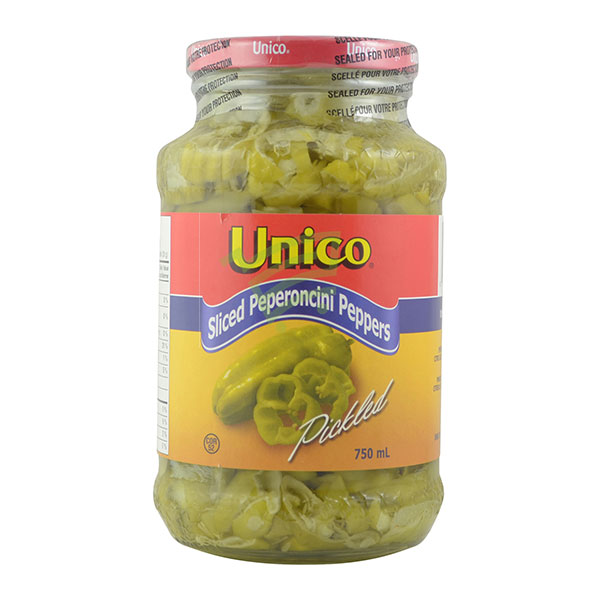 Indian grocery online - Unico Slice Peppers 750Ml - Cartly