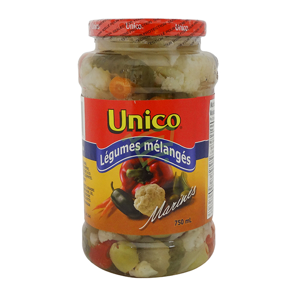 Indian grocery online - Unico Mix Veg 750Ml - Cartly