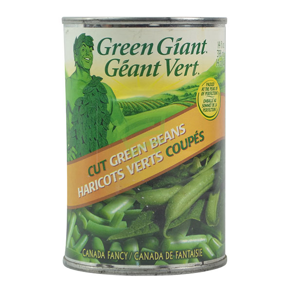 Indian grocery online - Green Giant Cut Green Beans 398Ml - Cartly
