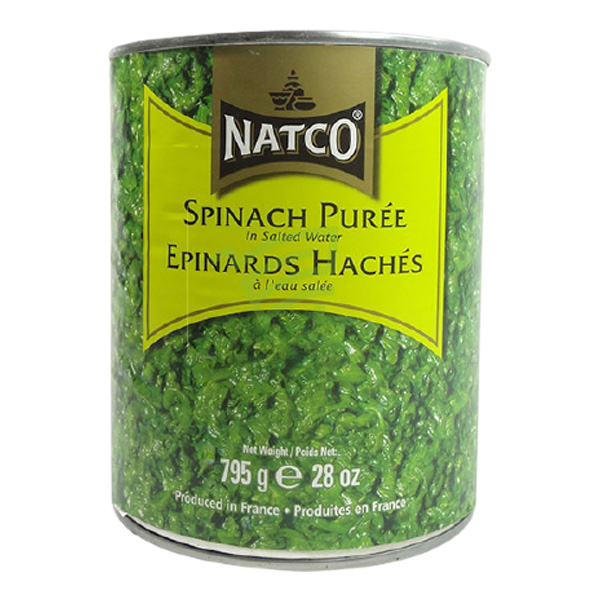 Indian grocery online - Natco Spinach Can 800G  - Cartly