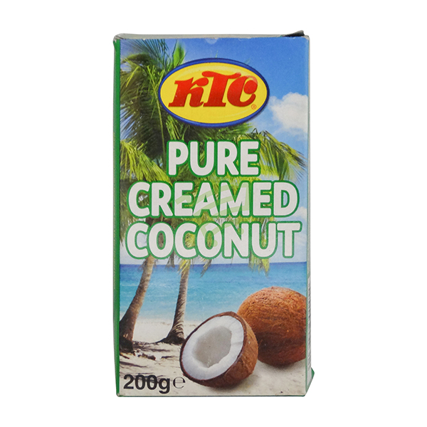 Indian grocery online - KTC Creamed Coconut 200G - Cartly