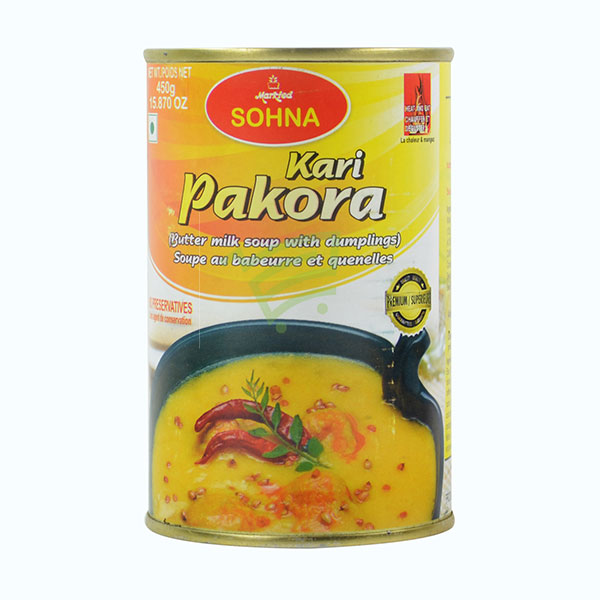 Indian grocery online - Sohna Kari Pakora Can 450G - Cartly