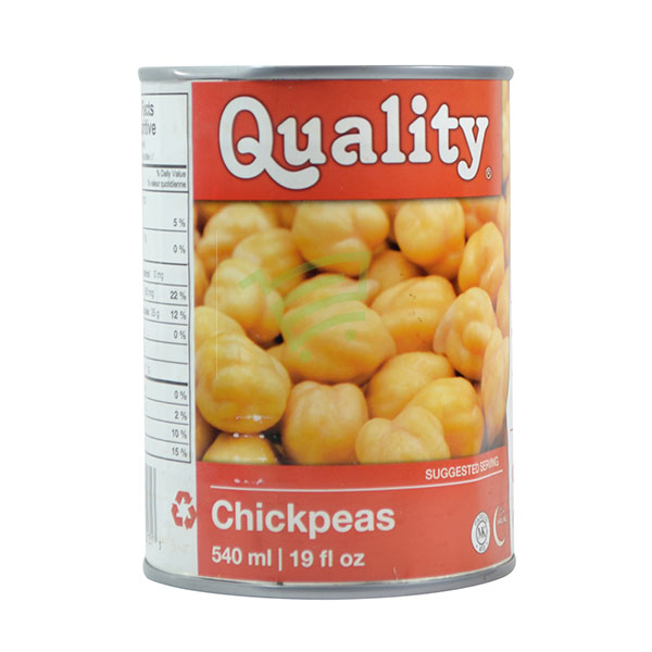 Indian grocery online - Quality Chickpeas 540Ml - Cartly