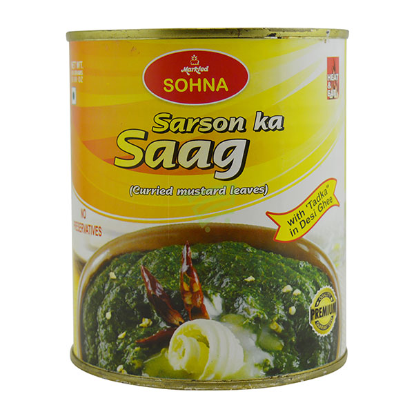 Indian grocery online - Sohna Sarson Ka Saag 850G - Cartly