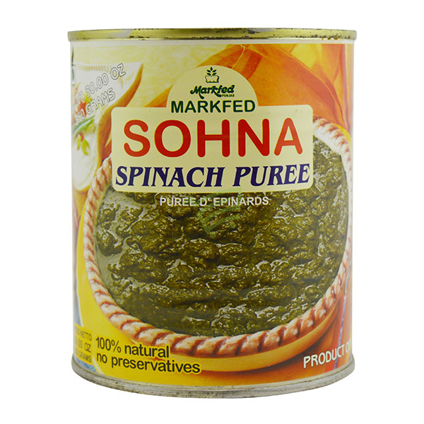Indian grocery online - Sohna Spinach Pure 850G - Cartly