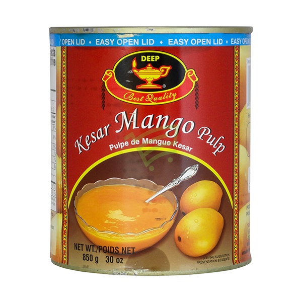Indian grocery online - Deep Kesar Mango Pulp 850g - Cartly