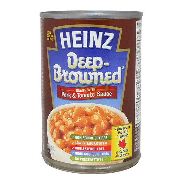 Indian grocery online - Heinz Deep Browned Beans 398Ml - Cartly