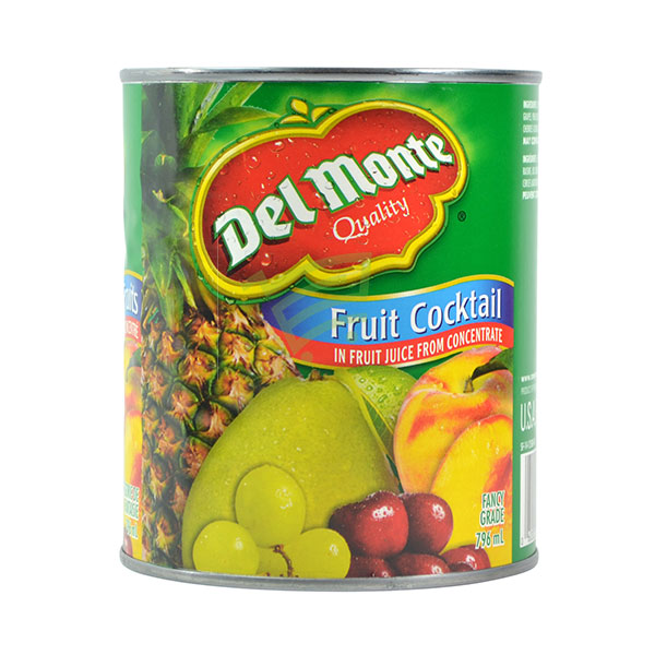 Indian grocery online - Del Monte Fruit Cocktail 796Ml - Cartly