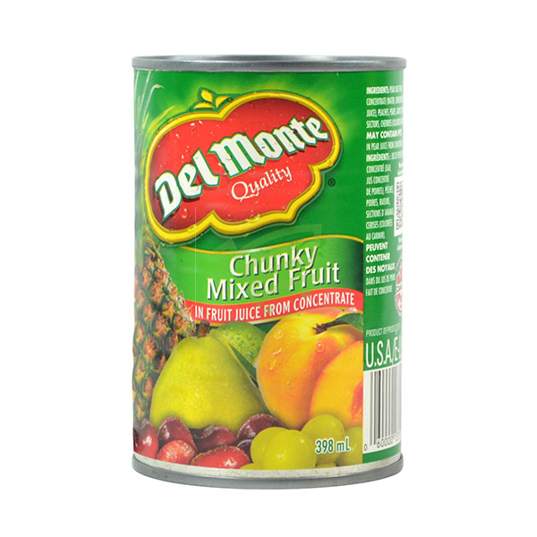 Indian grocery online - Del Monte Chunky Mixed Fruit 398Ml - Cartly