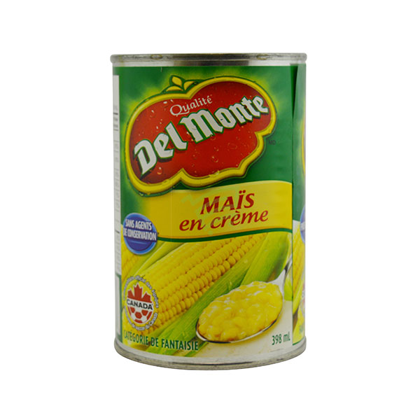 Indian grocery online - Del Monte Cream Corn 398Ml - Cartly