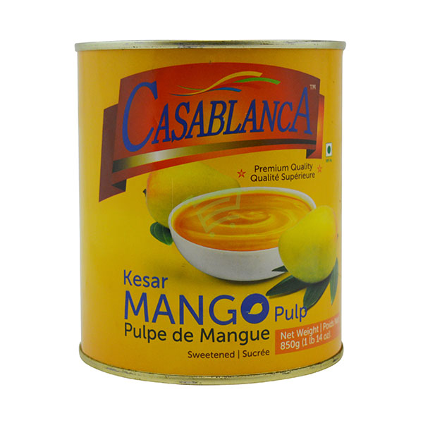 Indian grocery online - Casablanca Mango Pulp 850G - Cartly