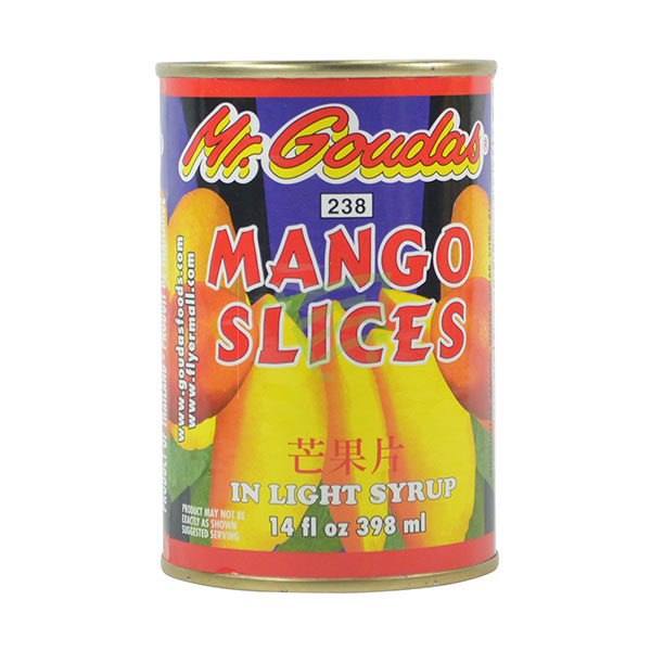 Indian grocery online - Mr.Goudas Mango Slice 398Ml - Cartly