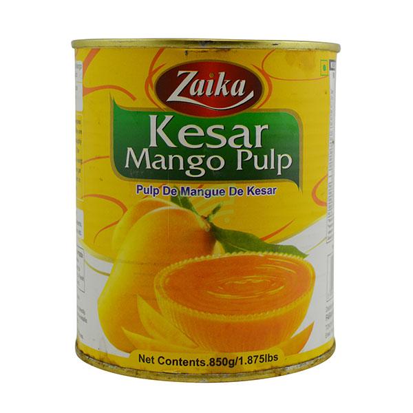 Indian grocery online - Zaika Kesar Mango Pulp 850G - Cartly