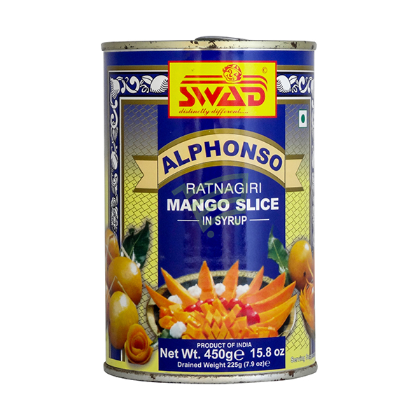 Indian grocery online - Swad Alphonso Mango Slice 450G - Cartly