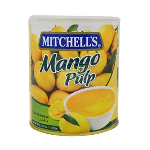 Indian grocery online - Mitchell's Mango Pulp 820g - Cartly