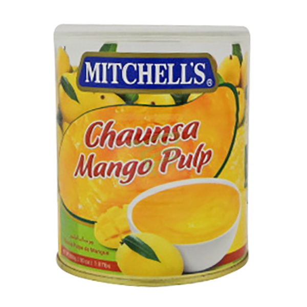 Indian grocery online - Mitchell's Chaunsa Mango Pulp 850g - Cartly