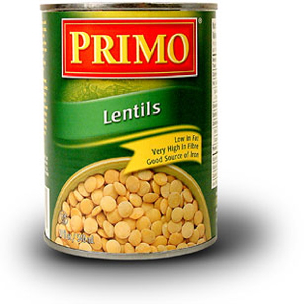Indian grocery online - Primo Lentils 540ml - Cartly