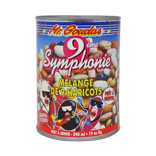 Indian grocery online - Mr.Goudas 9 Bean Mix 540Ml - Cartly
