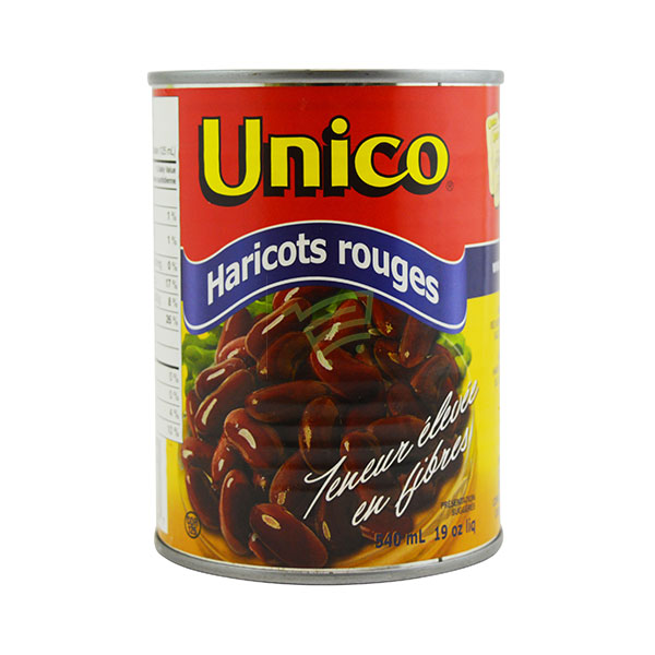 Indian grocery online - Unico Red Kidney Beans 540Ml - Cartly